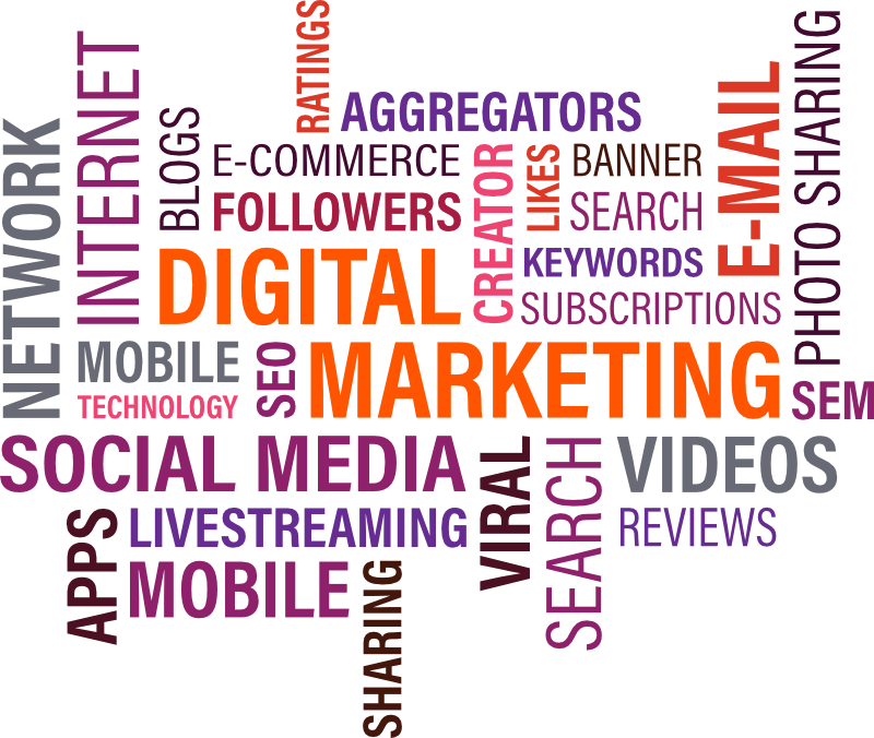 Begriffe des Digital Marketings