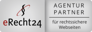 Siegel eRecht24 Agentur-Partner